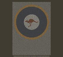 Roll of Honour 75(NZ) Squadron RAAF 'Roo' Unisex T-Shirt