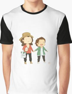 Larry on a walk Graphic T-Shirt