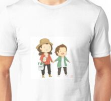 Larry on a walk Unisex T-Shirt