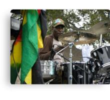 Drummer for Glen Washington Canvas Print