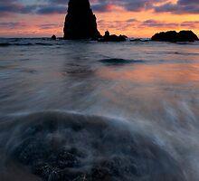 Needles Sundown by DawsonImages