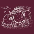 Monster Truck Inverted by Joe  Rough