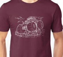 Monster Truck Inverted Unisex T-Shirt
