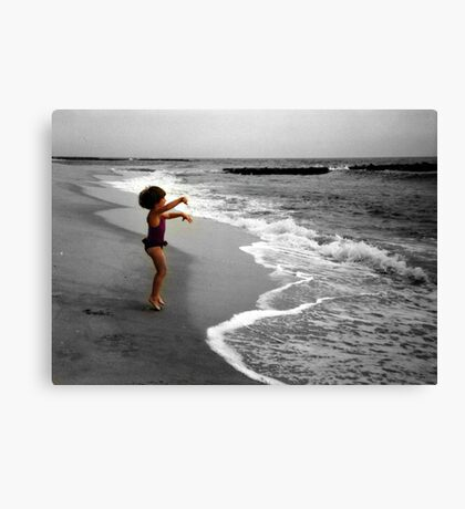 I Love The Ocean! Canvas Print