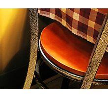 A Chair Photographic Print