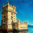 tower of Belem by Hidemi Tada