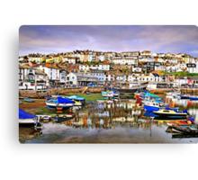 Beautiful Brixham - Devon, UK Canvas Print