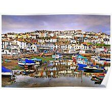 Beautiful Brixham - Devon, UK Poster