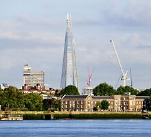 The Shard from Greenwich by Karen Martin