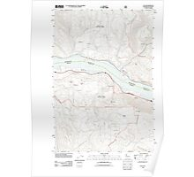 USGS Topo Map Washington State WA Lyle 20110816 TM Poster