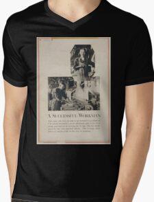 A successful workman Mens V-Neck T-Shirt