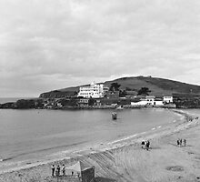Burgh Island by Mark Baldwyn