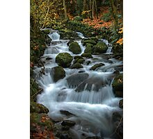 Flowing beauty. Photographic Print