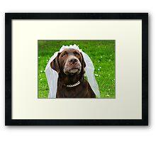 Sadie, Sadie, Married Lady Framed Print