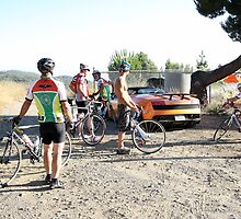 Lamborghini Gallardo LP570-4 Spyder Performante - With Cyclists by Pavle