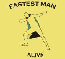 Fastest Man Alive Kids Clothes