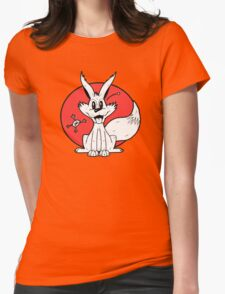 The Fox and The Frog Womens Fitted T-Shirt