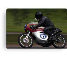 Motorcycle Canvas Print