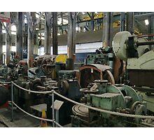 MACHINERY GRAVE YARD CHATHAM DOCKS MUSEUM Photographic Print