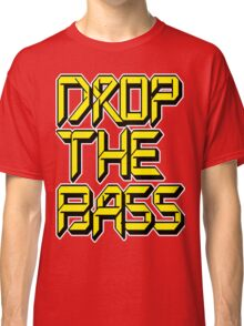 Drop The Bass (yellow) Classic T-Shirt