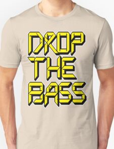 Drop The Bass (yellow) Unisex T-Shirt