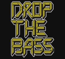 Drop The Bass (dark yellow) One Piece - Short Sleeve