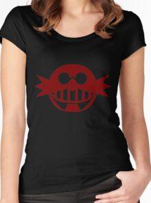 Robotnik Logo Large Women's Fitted Scoop T-Shirt