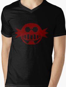 Robotnik Logo Large Mens V-Neck T-Shirt