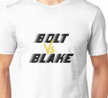 Bolt VS Blake! Unisex T-Shirt