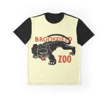 Black panther Brookfield Zoo ad Graphic T-Shirt