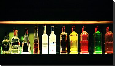 Bottles by Ruben D. Mascaro