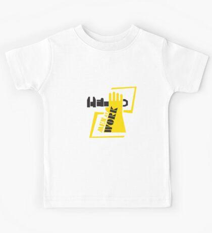 Men At Work T-Shirt Kids Tee