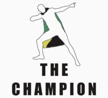 Usain Bolt - The Champion! Kids Clothes