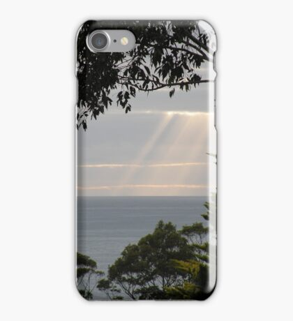 A ray of hope. iPhone Case/Skin