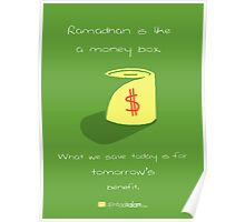 Ramadhan is Like.. a Money-Box Poster
