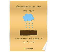 Ramadhan is Like.. the Rain Poster