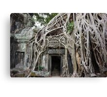 Temples of Angkor Canvas Print