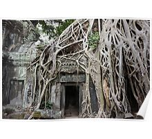 Temples of Angkor Poster