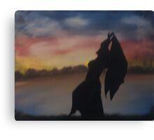 """I Dance""  by Carter L. Shepard Canvas Print"