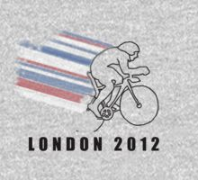 British Track Cycling - London 2012 One Piece - Long Sleeve
