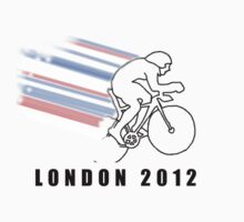 British Track Cycling - London 2012 Kids Tee
