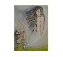 """Creation of Woman""  by Carter L. Shepard Art Print"