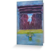 """""""Torn""""  by Carter L. Shepard Greeting Card"""