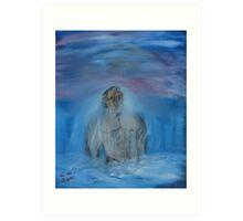 """New Man""  by Carter L. Shepard Art Print"