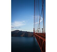 Halfway on the Golden Gate Photographic Print