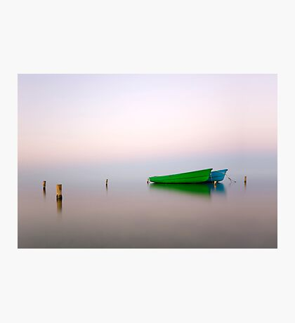 Zen boats Photographic Print