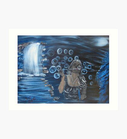 """Bubbles""  by Carter L. Shepard Art Print"