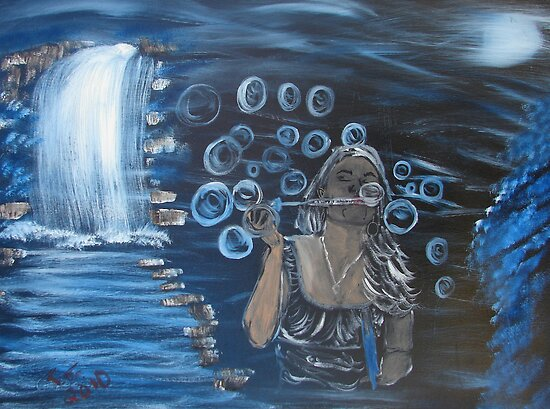 """""""Bubbles""""  by Carter L. Shepard by echoesofheaven"""