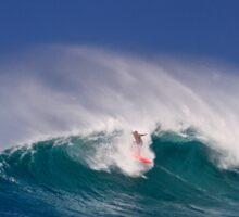 Surfer at Sunset Beach 3 Sticker