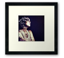 Time waits for no one. Framed Print